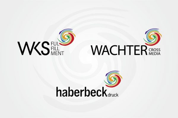 WKS Fulfillment - Wachter Crossmedia - haberbeck druck - Logos