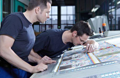 WKS-Gruppe-Druckholding-Druckereibetriebe-Impression aus dem Qualitätsmanagement
