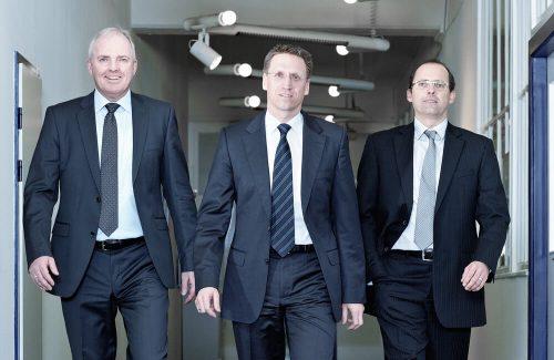 Herr Schade, Herr Dittmann und Herr Bannas