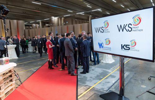 WKS Gruppe – Einweihung unserer zweiten 160-Seiten-Rotation und unserer 120-Seiten-Rotation
