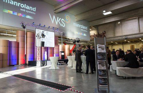 WKS Gruppe – Einweihung unserer ersten 160-Seiten-Rotation